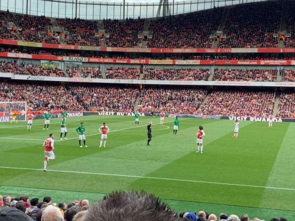 Emirates Stadium, Bereich: 2, Reihe: 18, Platz: 36