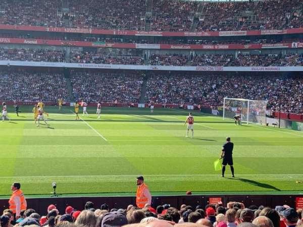 Emirates Stadium, Bereich: 16, Reihe: 27, Platz: 499