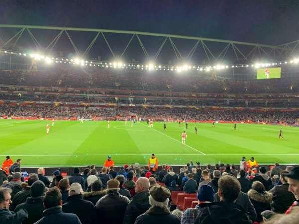 Emirates Stadium, Bereich: 17, Reihe: 17, Platz: 528