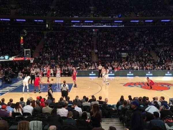 Madison Square Garden, Abschnitt: 116, Reihe: 7, Platz: 19