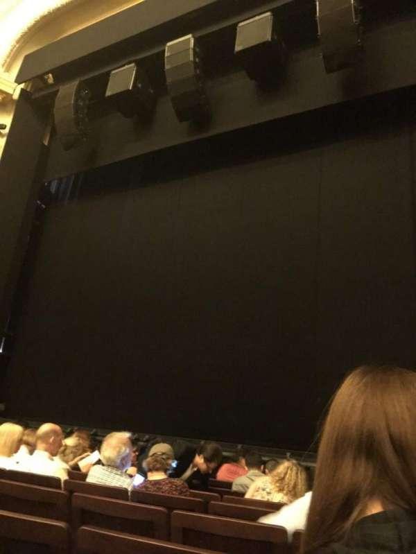 Hudson Theatre, Abschnitt: Orchestra C, Reihe: H, Platz: 121