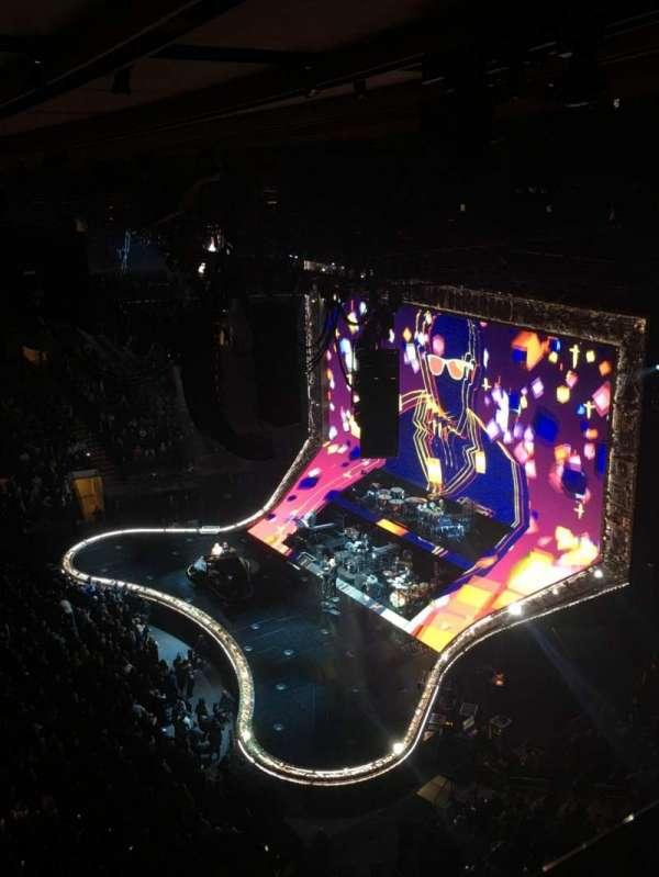 Madison Square Garden, Abschnitt: 313, Reihe: 1, Platz: 6