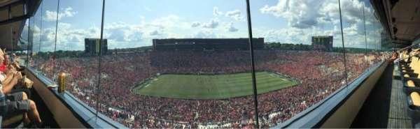 Michigan Stadium, Abschnitt: 409, Reihe: 1, Platz: 8