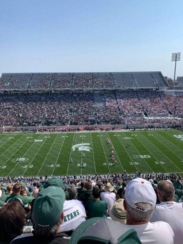 Spartan Stadium, Bereich: 123, Reihe: 15, Platz: 34