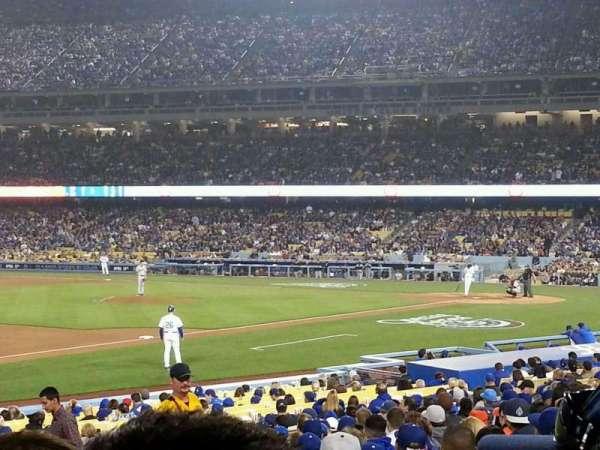 Dodger Stadium, Abschnitt: 31FD, Reihe: S, Platz: 5