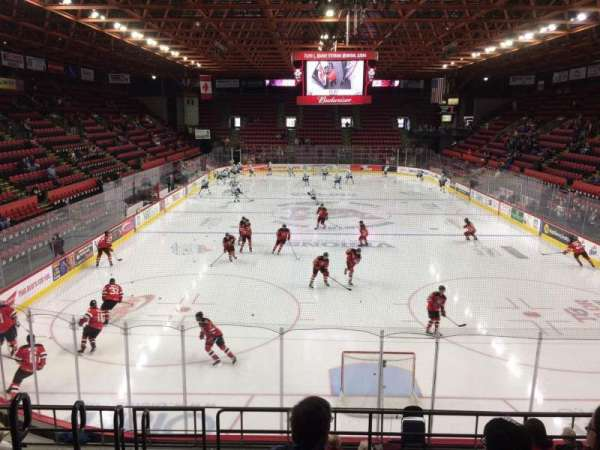 Floyd L. Maines Veterans Memorial Arena, Abschnitt: 8, Reihe: H, Platz: 15