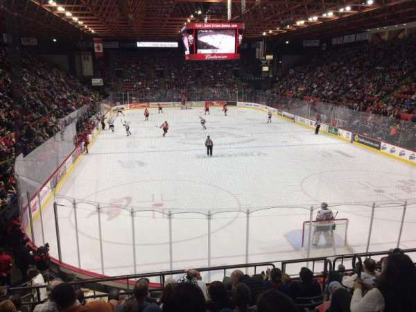 Floyd L. Maines Veterans Memorial Arena, Abschnitt: 9, Reihe: H, Platz: 2