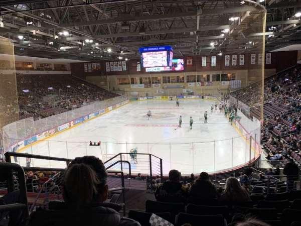 Erie Insurance Arena, Bereich: 212, Reihe: V, Platz: 18