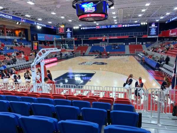 UPMC Events Center, Abschnitt: 110, Reihe: G, Platz: 1