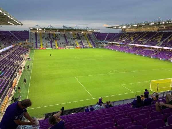 Exploria Stadium, Abschnitt: 106, Reihe: P, Platz: 22