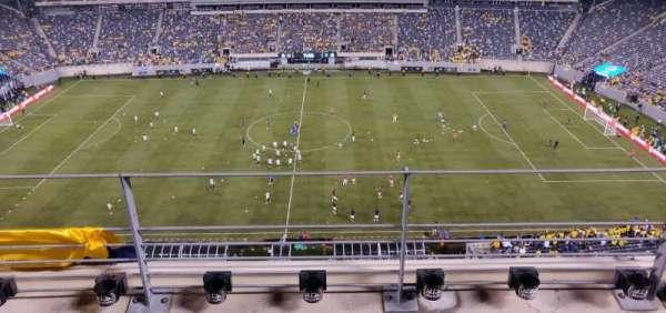 MetLife Stadium, Abschnitt: 313, Reihe: 3, Platz: 18
