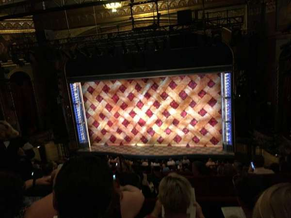 Brooks Atkinson Theatre, Abschnitt: Center MEZZ, Reihe: G, Platz: 106