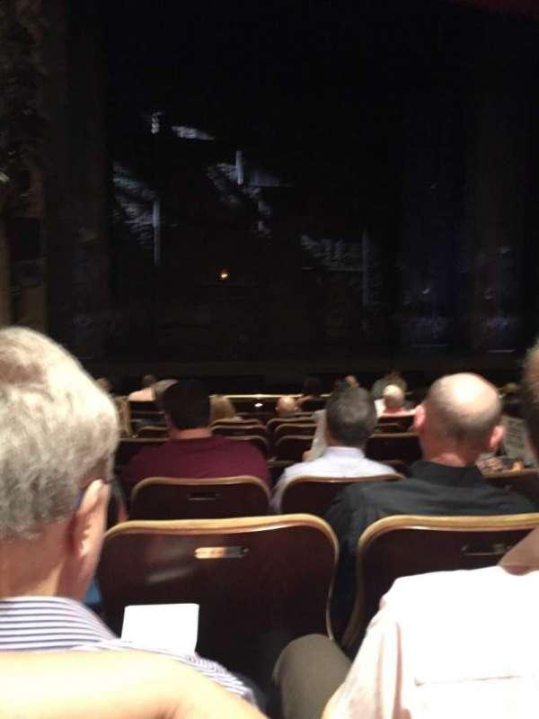 Samuel J. Friedman Theatre, Abschnitt: Orch, Reihe: K, Platz: 117
