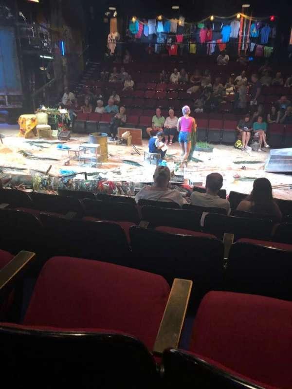 Circle in the Square Theatre, Abschnitt: Orch, Reihe: E, Platz: 29