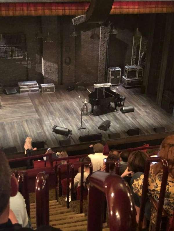 Walter Kerr Theatre, Abschnitt: Mezz, Reihe: H, Platz: 1