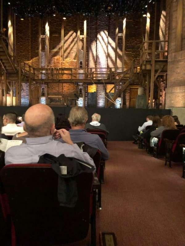 CIBC Theatre, Abschnitt: Orchestra C, Reihe: K, Platz: 112