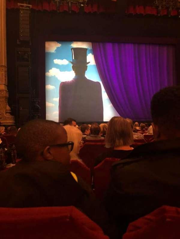 Oriental Theatre, Abschnitt: Orch, Reihe: N, Platz: 101