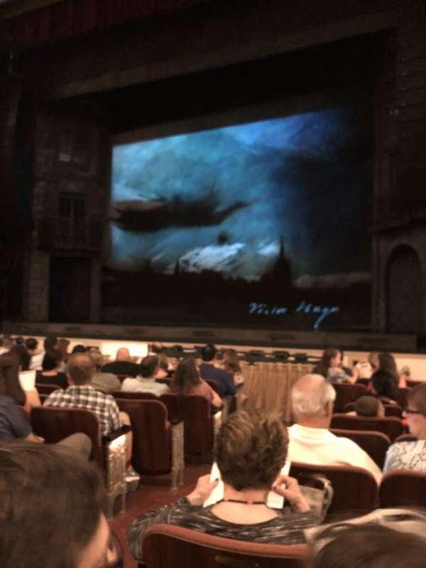 Shubert Performing Arts Center, Abschnitt: Orch, Reihe: G, Platz: 4