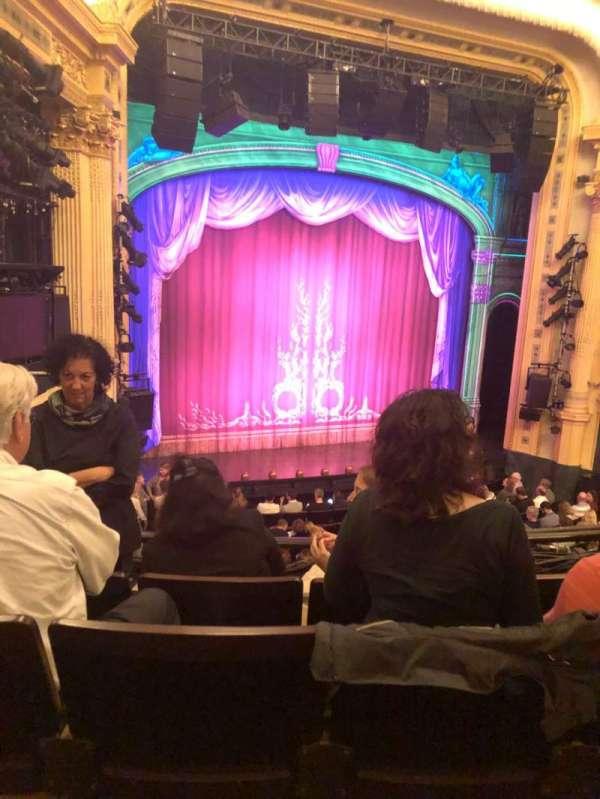 Hudson Theatre, Abschnitt: Dress, Reihe: D, Platz: 17