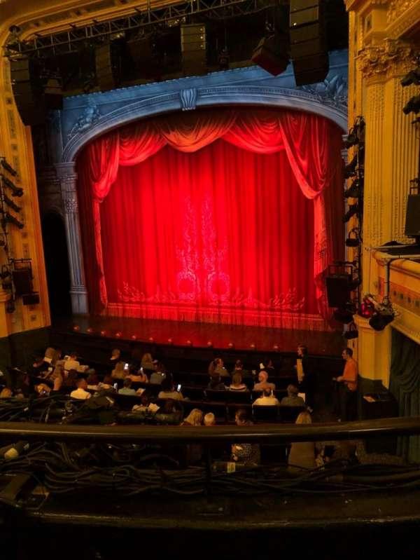 Hudson Theatre, Abschnitt: Dress, Reihe: B, Platz: 6