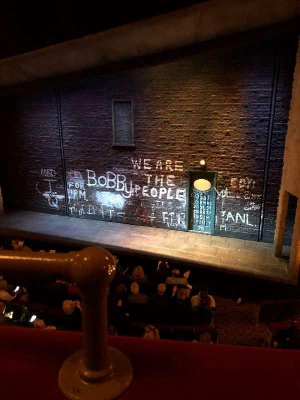 Bernard B. Jacobs Theatre, Abschnitt: Mezz, Reihe: A, Platz: 2