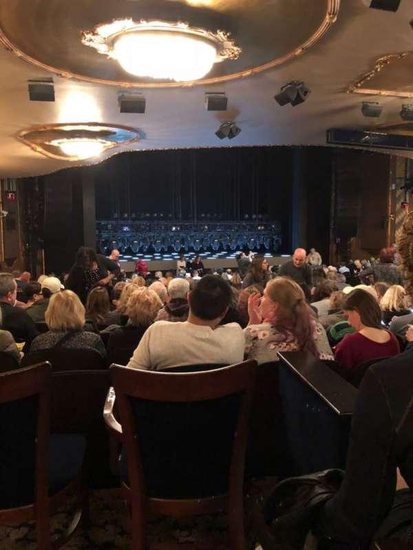 Lunt-Fontanne Theatre, Abschnitt: Orch, Reihe: Y, Platz: 18