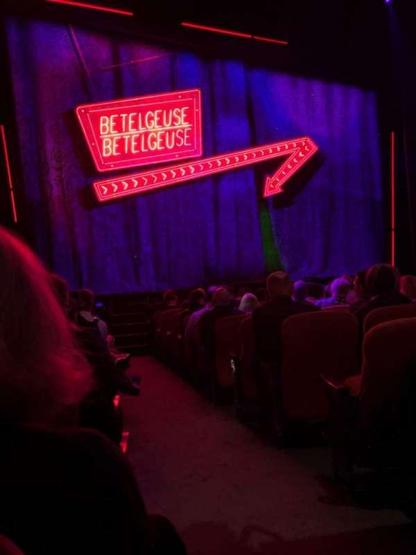 National Theatre (DC), Abschnitt: Orch, Reihe: M, Platz: 1