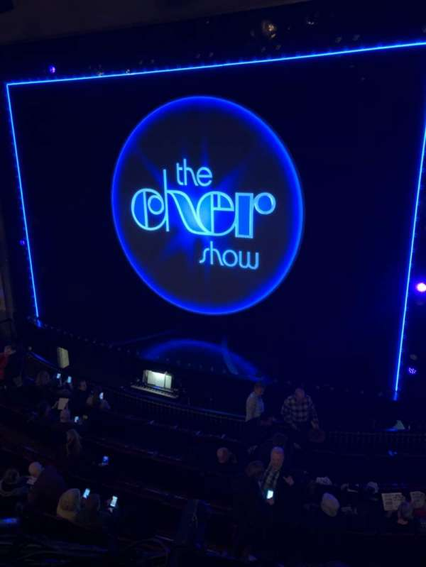 Neil Simon Theatre, Abschnitt: Mezz, Reihe: A, Platz: 126