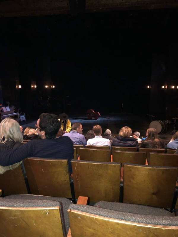 The Anspacher Theater at the Public Theater, Abschnitt: Orch, Reihe: J, Platz: 7
