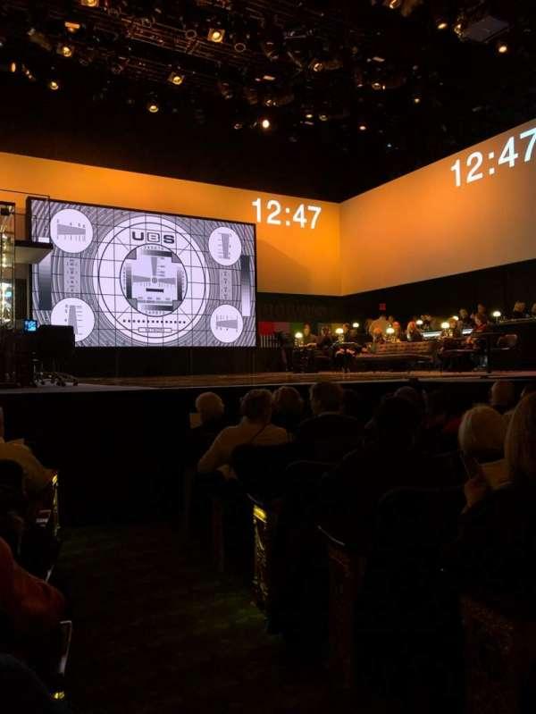 Belasco Theatre, Abschnitt: Orch, Reihe: G, Platz: 1