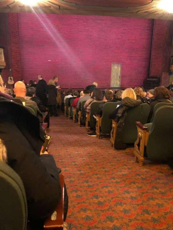 Shubert Theatre, Abschnitt: Orch, Reihe: R, Platz: 1