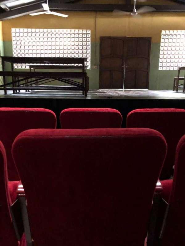 Lucille Lortel Theatre, Abschnitt: Orch, Reihe: C, Platz: 108