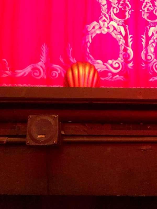 Hudson Theatre, Abschnitt: Orch, Reihe: A, Platz: 105