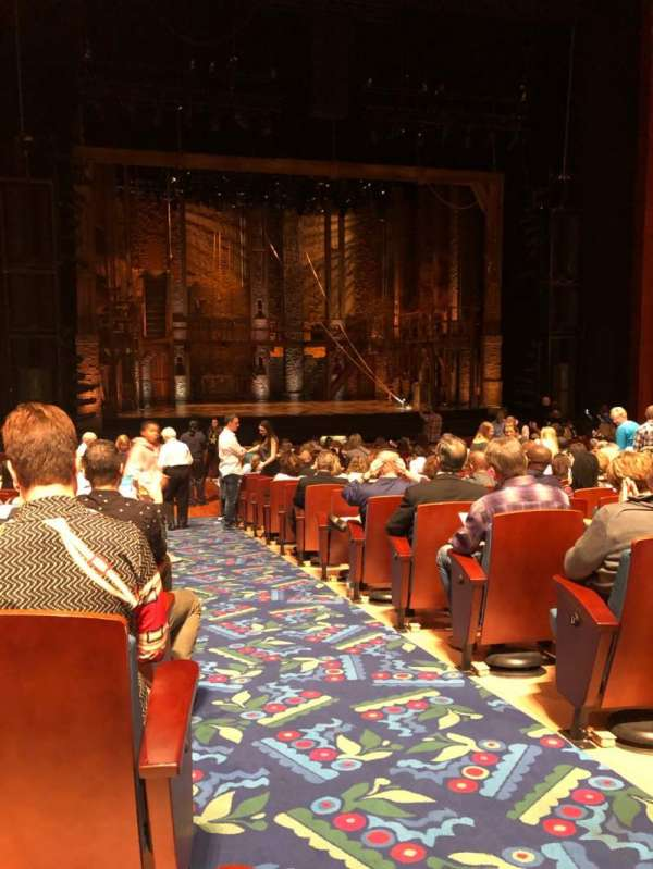 Au-Rene Theatre at the Broward Center, Abschnitt: Orch, Reihe: X, Platz: 1