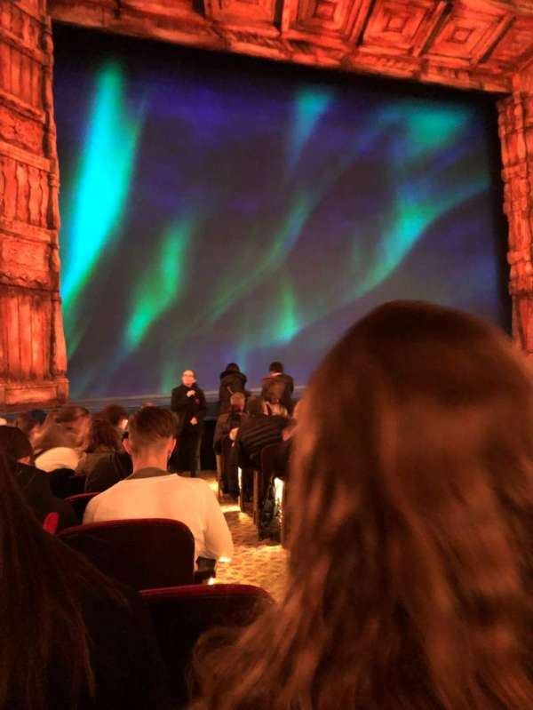 St. James Theatre, Abschnitt: Orchestra L, Reihe: L, Platz: 3