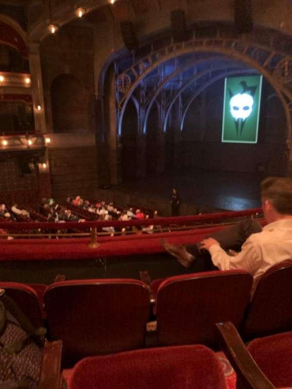 Lyric Theatre, Abschnitt: Dress, Reihe: C, Platz: 8
