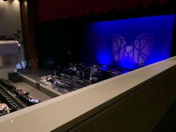 Arcadia Performing Arts Center, Abschnitt: Mezz Right, Reihe: AA, Platz: 12
