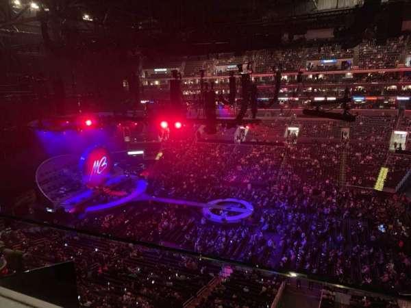 Staples Center, Abschnitt: 317, Reihe: 1, Platz: 1