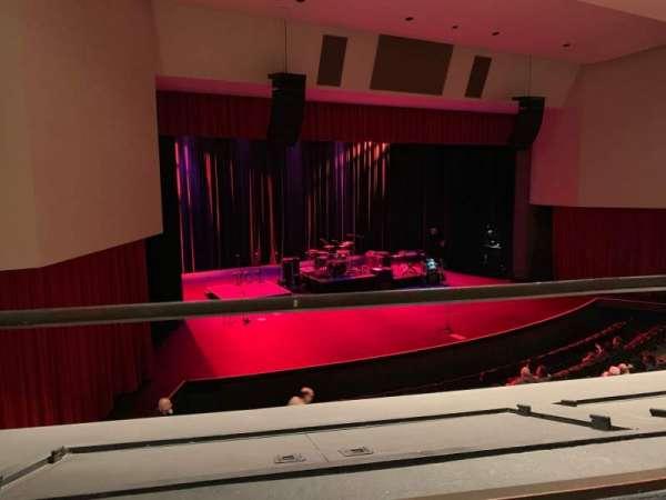 Downey Theatre, Abschnitt: Balcony Left, Reihe: AA, Platz: 1