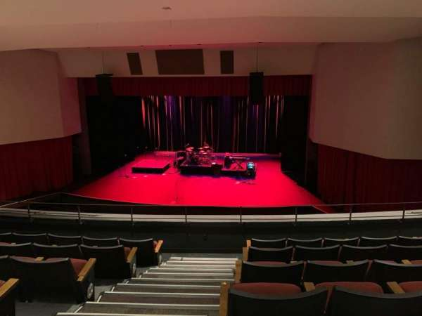 Downey Theatre, Abschnitt: Balcony Right, Reihe: FF, Platz: 26