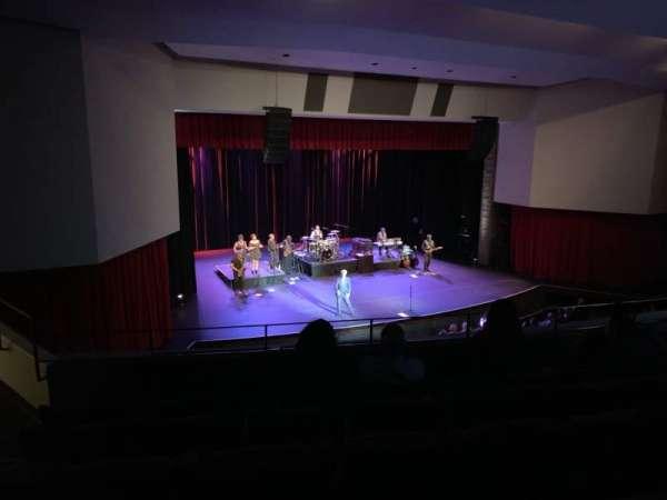 Downey Theatre, Abschnitt: Balcony Left, Reihe: FF, Platz: 1