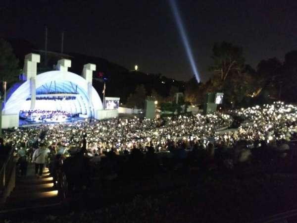 Hollywood Bowl, Abschnitt: P3, Reihe: 5, Platz: 23