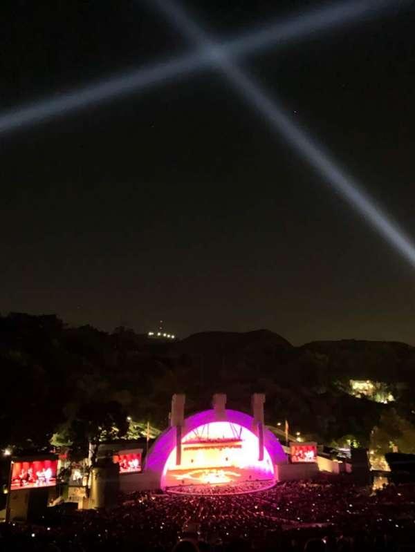 Hollywood Bowl, Abschnitt: U1, Reihe: 15, Platz: 26