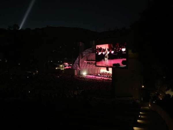 Hollywood Bowl, Abschnitt: F3, Reihe: 18, Platz: 30