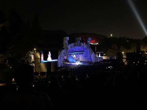 Hollywood Bowl, Abschnitt: P3, Reihe: 7, Platz: 37