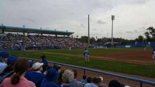 Florida Auto Exchange Stadium, Abschnitt: 101, Reihe: 4, Platz: 5