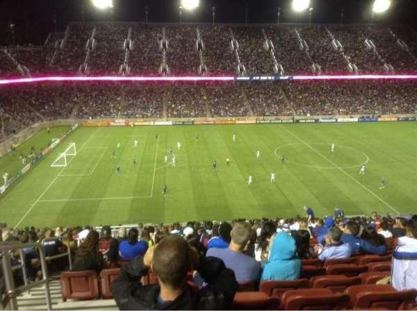 Stanford Stadium, Abschnitt: 215, Reihe: BB, Platz: 20-21