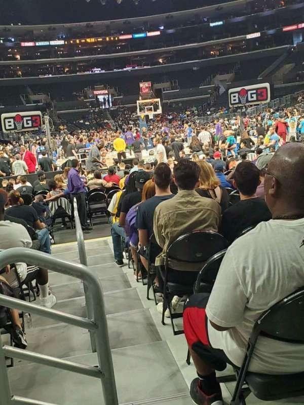 Staples Center, Abschnitt: 116, Reihe: 3 , Platz: 9