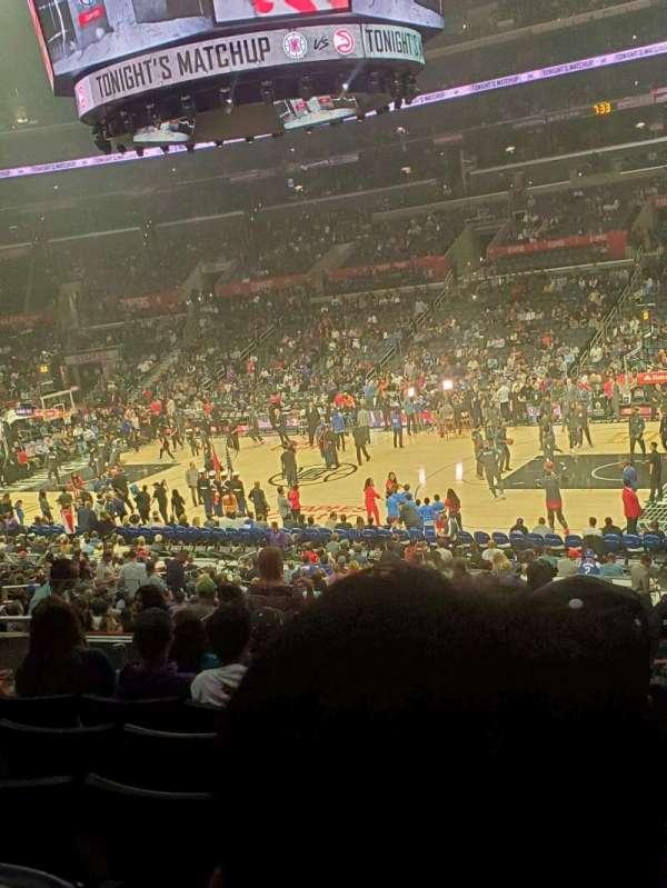 Staples Center, Abschnitt: PR12, Reihe: 7, Platz: 6
