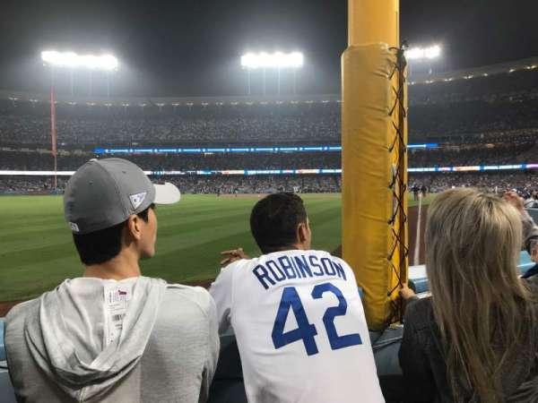 Dodger Stadium, Abschnitt: 49FD, Reihe: A, Platz: 13